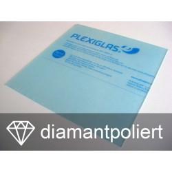 Plexiglas Zuschnitt XT klar Stärke 10,0 mm, diamantpoliert